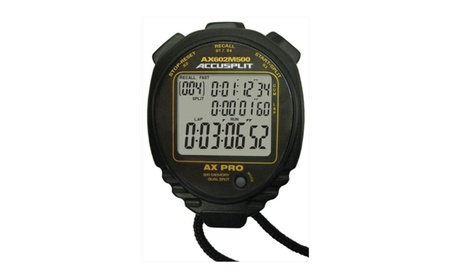 Accusplit AX602M500 Multi Mode 500 Memory Advanced Timing Stopwatch 84d866d2-4391-48a0-9aec-f48e47d52061