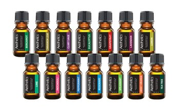 100% Pure Therapeutic-Grade Aromatherapy Essential Oils (4-, 8- 14-Pack)