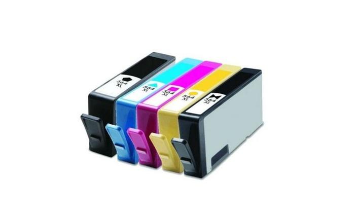 5 Pack 564XL Ink Set For HP Photosmart C309 C309a C309G C310a C410A C510