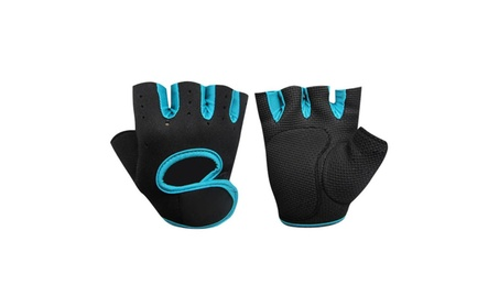 Unisex Outdoor Cycling Sports Half Finger Short Gloves Gym Training 9c834c48-3897-40a8-9f29-2e1722b1c5ba