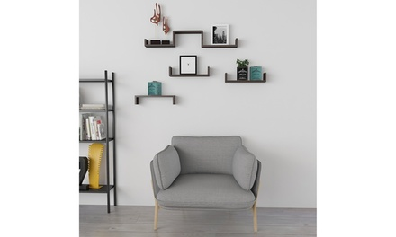 SUPERJARE Wall Mounted Floating Display Shelves Set Of 3 Wall Storage Rack Was: $41.99 Now: $13.99.