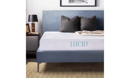 "Lucid 10"" Gel Memory Foam Mattress"