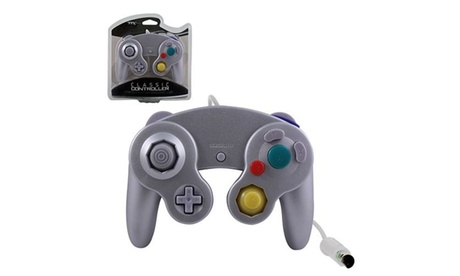 TTX Tech Wired Controller For Nintendo GameCube System Silver cb90ab7f-7a40-46f0-ac73-76fd901bad41