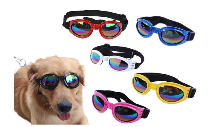 62e7c0296ac6 Special Fun and Cool Design Dog Anti-wind Glasses