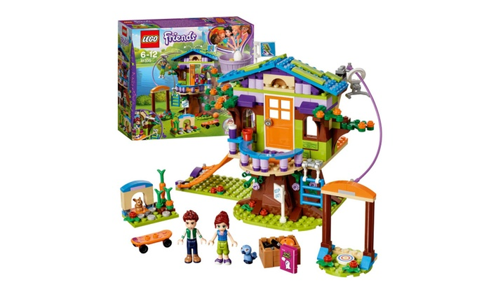 Lego Friends Mias Tree House Set 41335 Groupon