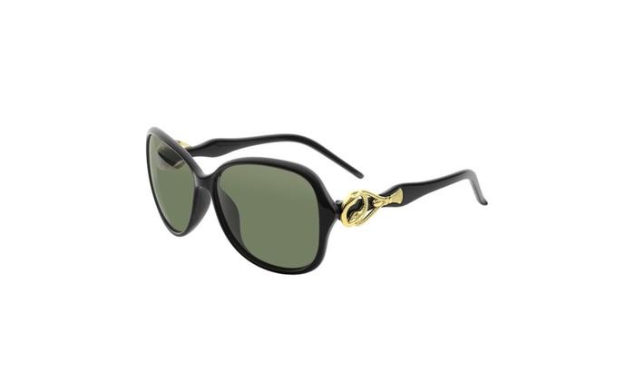 Zodaca Women Fashion Polarized UV 400 100% UV Protection Sunglasses
