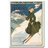 SNF Routes to Chamonix 1910 Canvas Print