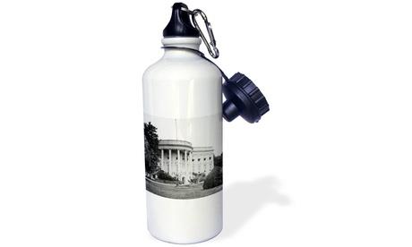 Water Bottle White House South Front Lawn Washington DC Circa 1890s Vintage photo