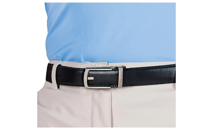 Premium New Men Comfort Adjustable Click Belt Black