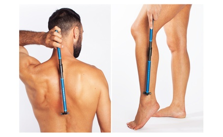 EVOLVE Body Razor - Back shaver Leg shaver - 4 cartridges included f0a1f658-1b81-4140-a2dd-38a3a8a166fd