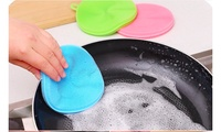 Multifunction Surface- and Dish-Cleaning Soft Silicone Sponge (3-Pack)