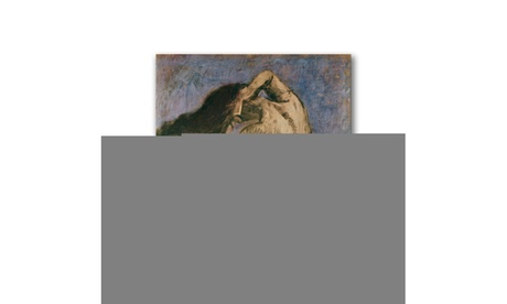 Paul Cezanne 'Woman Combing her Hair' Canvas Art 384b03f8-f1ac-4d4f-9569-83d5faf35bb7