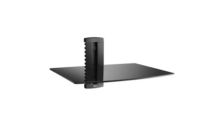 WALI WL-CS201-1 1XBlack DVD DVR VCR Wall Mount Bracket Component Shelf 864fe196-2b89-41b8-8011-e33b7fe20b13