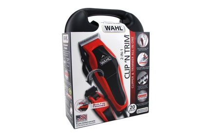 Wahl Hair Clipper and Trimmer 20 Piece All In One Set 1f49414c-11d8-4e8d-805e-ed48b18fabc2