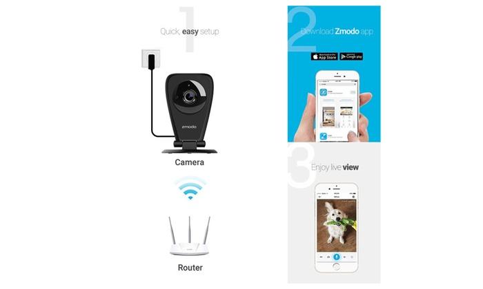 Zmodo EZCam Pro-1080p Wireless Kid and Pet Monitoring