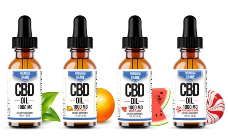 Premium CBD Oil from Select Organics, Various Flavors (500mg-3000mg)
