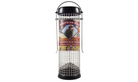 Droll Yankees DYABW9BK American Bird Woodpecker Feeder Black 9 inch (Goods For The Home Patio & Garden Bird Feeders & Food) photo