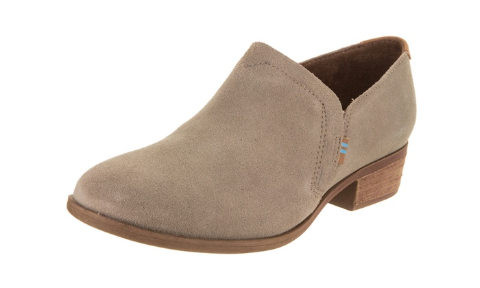 2f0affc2ad5 Toms Women s Shaye Slip-On Shoe Medium 9 Women US Desert Taupe Suede