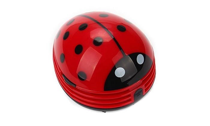 Attractive ... Happyending: Mini Ladybug Desktop Coffee Table Vacuum Cleaner Dust  Collector ...