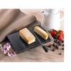 EVCO International 74067 Black Marble 5 in. x 8 in. Cheese Slicer