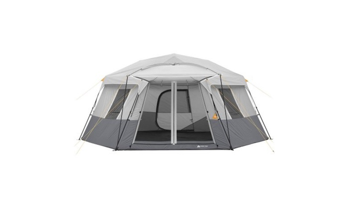 Ozark Trail 17 X 15 Instant Hexagon Cabin Tent Groupon