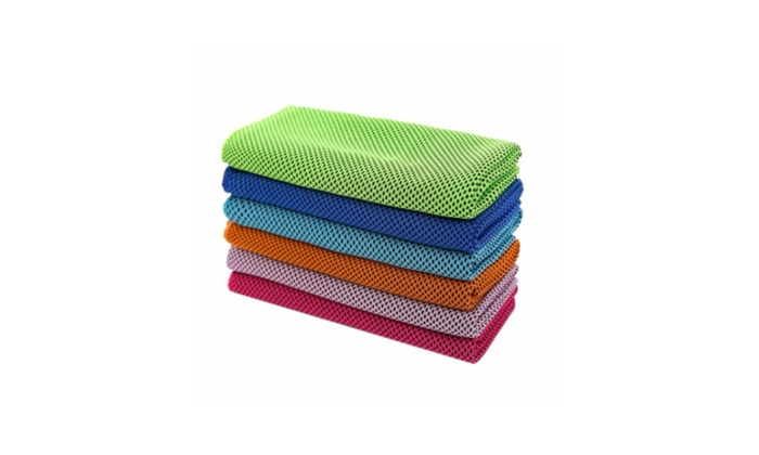 Cooling Towel Ice Cold Cool Sport Reuseable Cycling Jogging Golf
