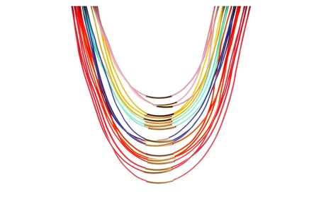 Bohemia Multilayer Wax Rope Choker Necklace for Women fa183ce7-f79a-43df-a703-a41e96bced18