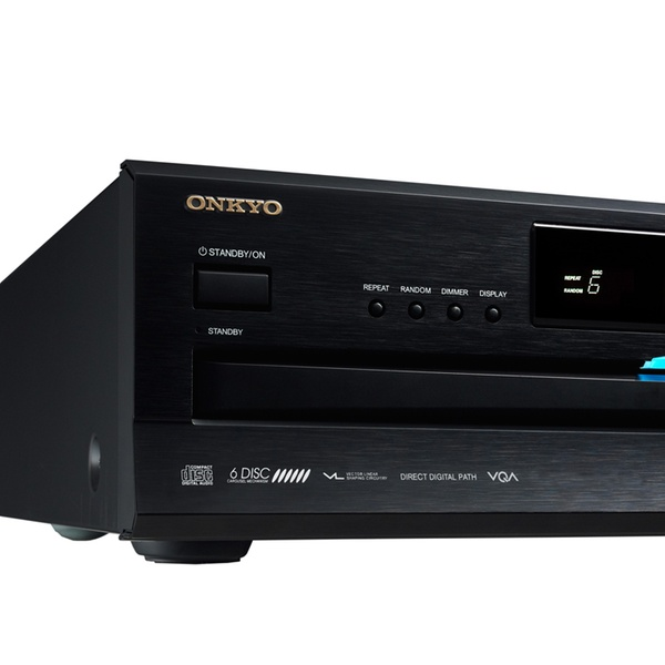 Onkyo 6-Disc Home Audio Carousel CD Changer Player with RemoteDX-C390
