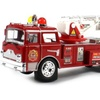Power Fire Dept. Rescue Battery Operated Bump and Go Toy Fire Truck