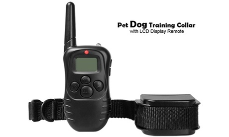 Rechargeable Waterproof Remote Vibration & Shock Dog Training Collar 7527ab57-bbf5-4791-bd43-9d56ad009c7a