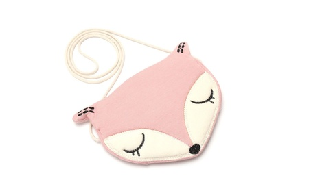 Adorable Fox One Shoulder Diagonal Messenger Bag Coin Purse For Girl (Goods Toys Pretend Play Fashion Accessories) photo