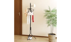Furinno Metal Hat and Coat Stand