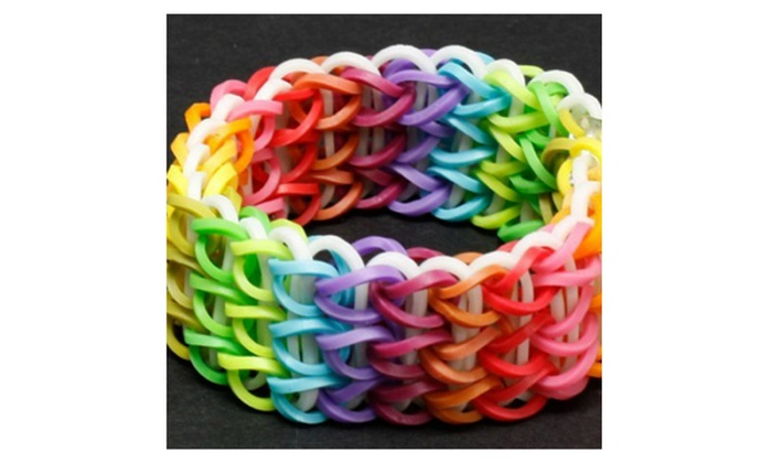 Rubber Band Bracelet Maker Make Your Own Hair Ties Diy Kit For Children