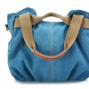 Womens Canvas Handbag-Assorted Colors