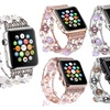Bling Agate Beads Strap Bracelet Band For Apple Watch Series 1, 2, 3