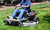 "Dirty Hand Tools Zero Turn Mower with 23hp Kawasaki Engine and 60"" Cutting Width"