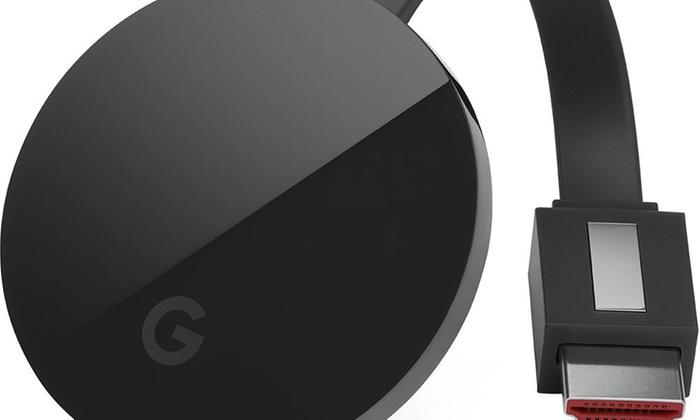 Google Chromecast Ultra (Black)