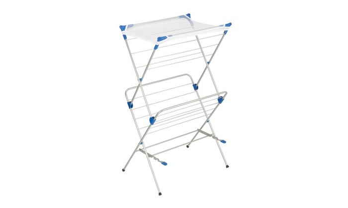 Honey Can Do Dry 01104 2 Tier Mesh Top Drying Rack Groupon