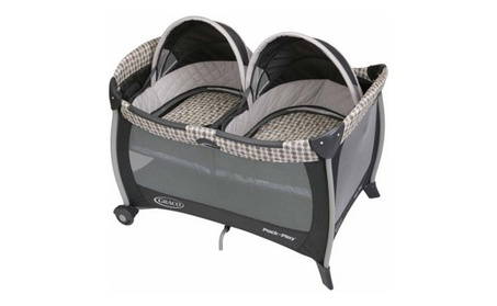 Twins Bassinet Pack 'n Play Playard 13e49ef1-0eb8-42d0-a1df-59a0ac1de08c