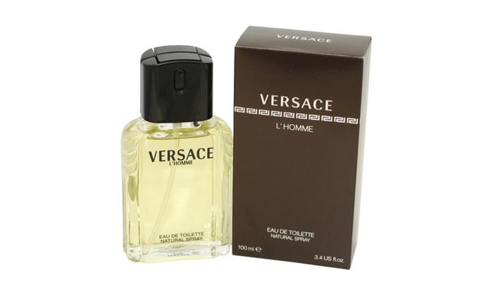 7f67537672f Versace L Homme For Men By Gianni Versace Eau De Toilette Spray 3.3 ...