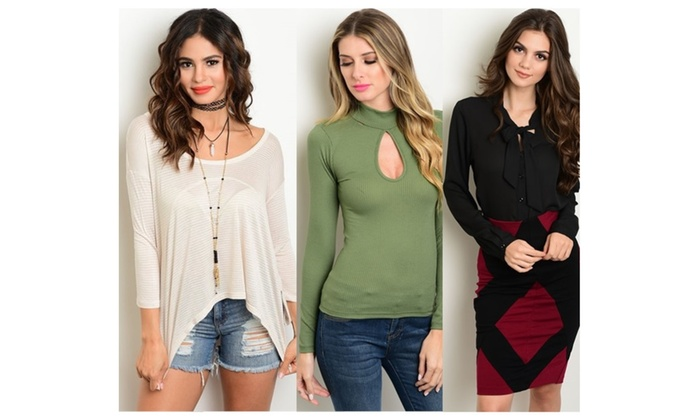 Long Sleeves Style Tops