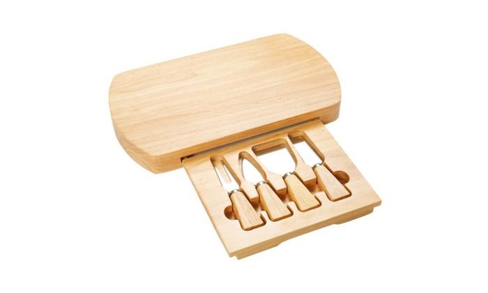 Board Knife Set 4 Stainless Steel