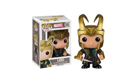 Funko POP Marvel (BOBBLE): Helmet Loki Action Figure - GOLDEN fc470815-605b-42ae-9157-be4dd763c1d9