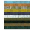 Michelle Calkins 'Wooden Abstract VII' Canvas Art