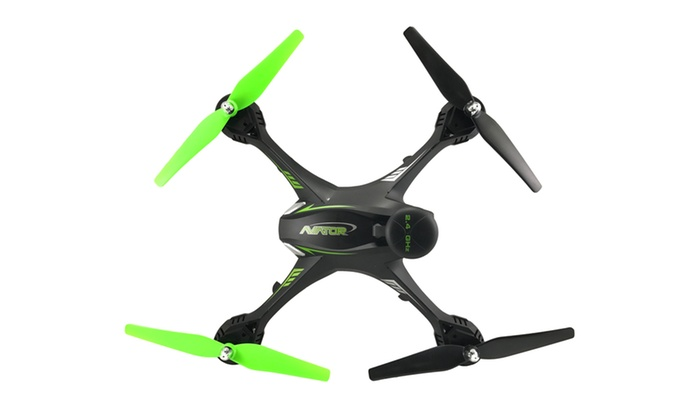 TechComm Falcon Drone with Headless Mode and LED Lights