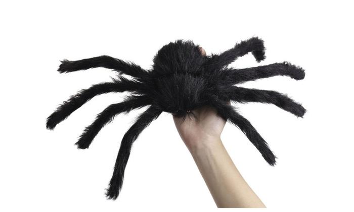 Fake Spider Web Black Halloween Decorations Groupon