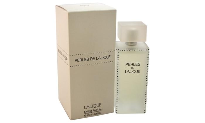 lalique perles de lalique women 3 3 oz edp spray groupon. Black Bedroom Furniture Sets. Home Design Ideas