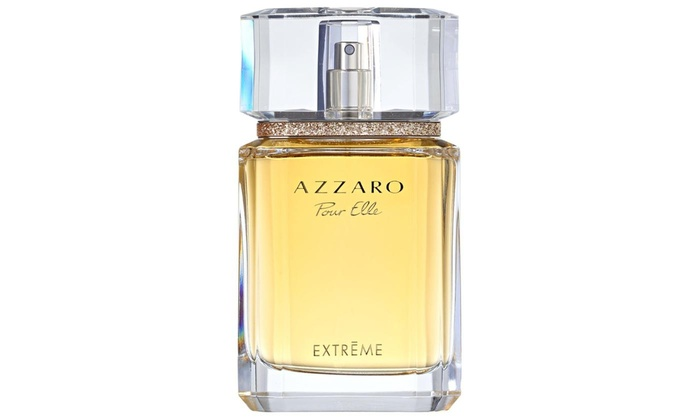 Up To 85 Off On Azzaro Pour Elle Extreme 25 Groupon Goods