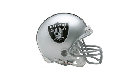 Oakland Raiders Replica Mini Helmet w/ Z2B Face Mask f3f69952-95ce-43c8-9a8a-63fe0035d69a