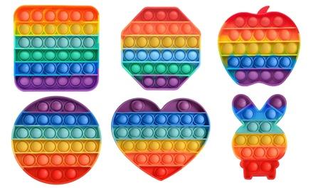 2-Pack Bubble Popper Anti-Stress Fidget Toy
